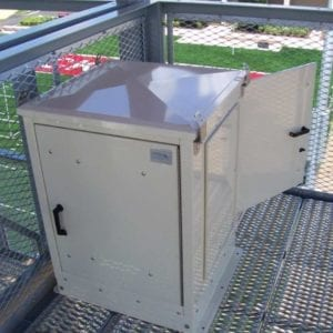 Ohio State University Stadium  Electronics enclosure for Sound Equipment