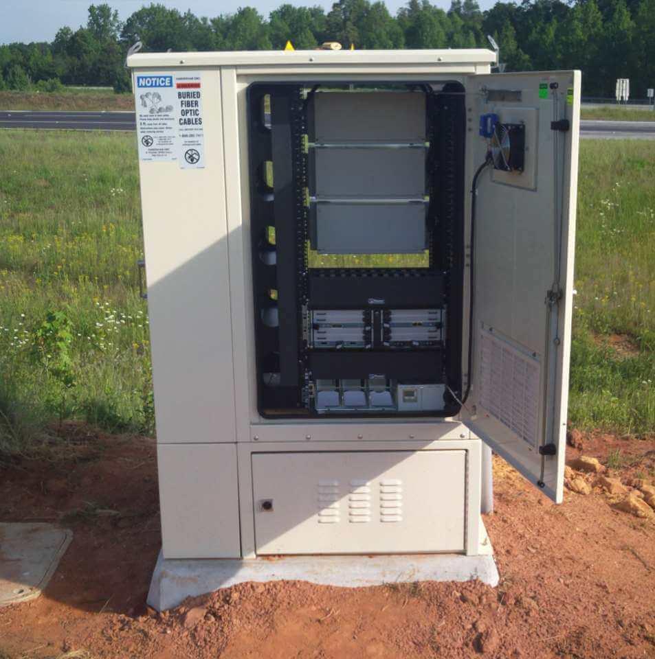 The Patriot Patriot enclosure used for Fiber Backhaul in Georgia