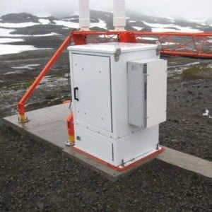 Modular in the Antartic  Modular Enclosure at an airfield in the Antartic