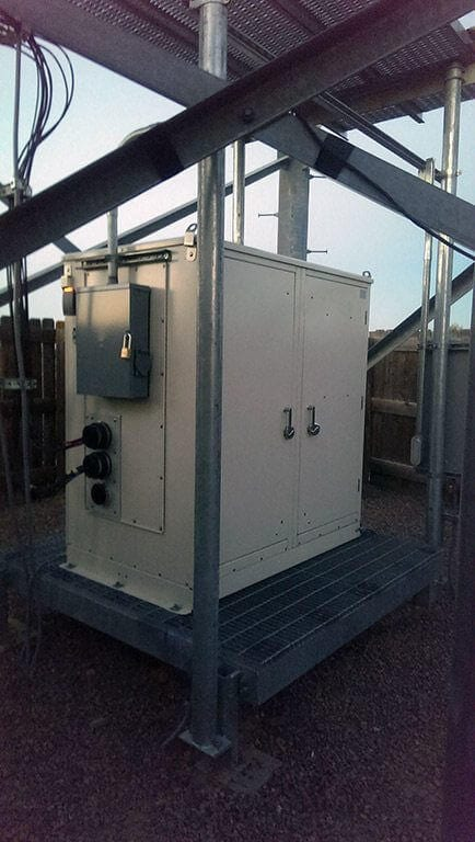 Oil Field Communications Site in Colorado