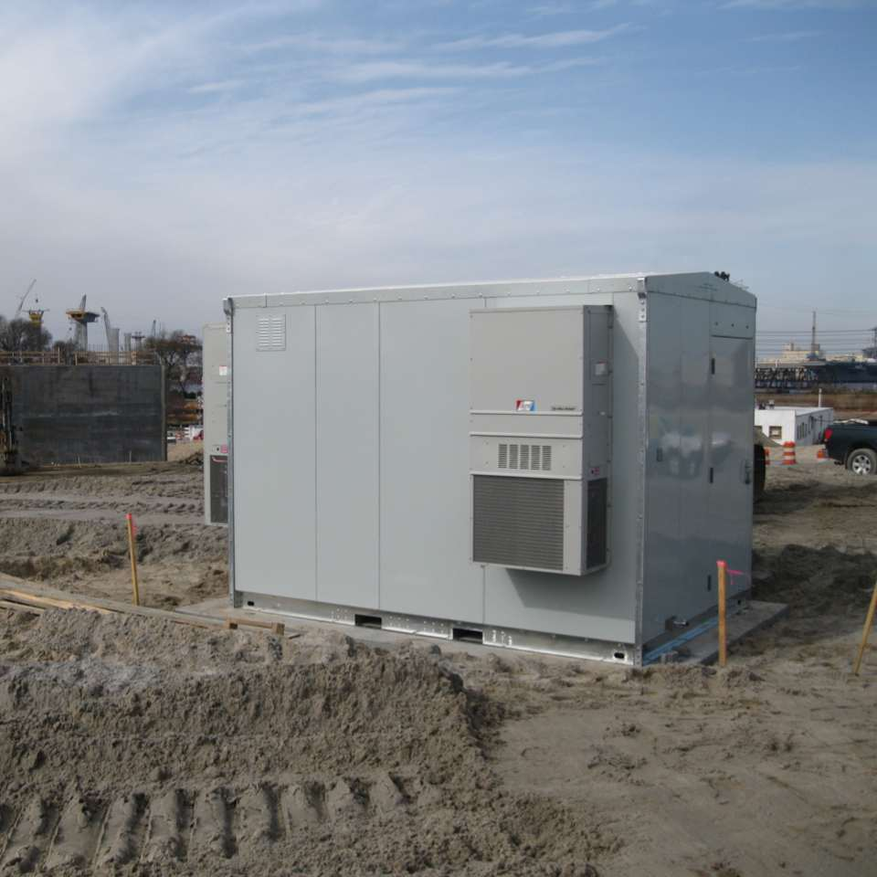 Lightweight Toll Bridge Shelter - 8x12 Lightweight shelter with Redundant climate control.