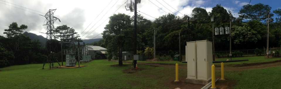 """Kauai Electric Coop - Two 78"""" Modular Units connected with a Joining Collar option for an electrical coop industry."""