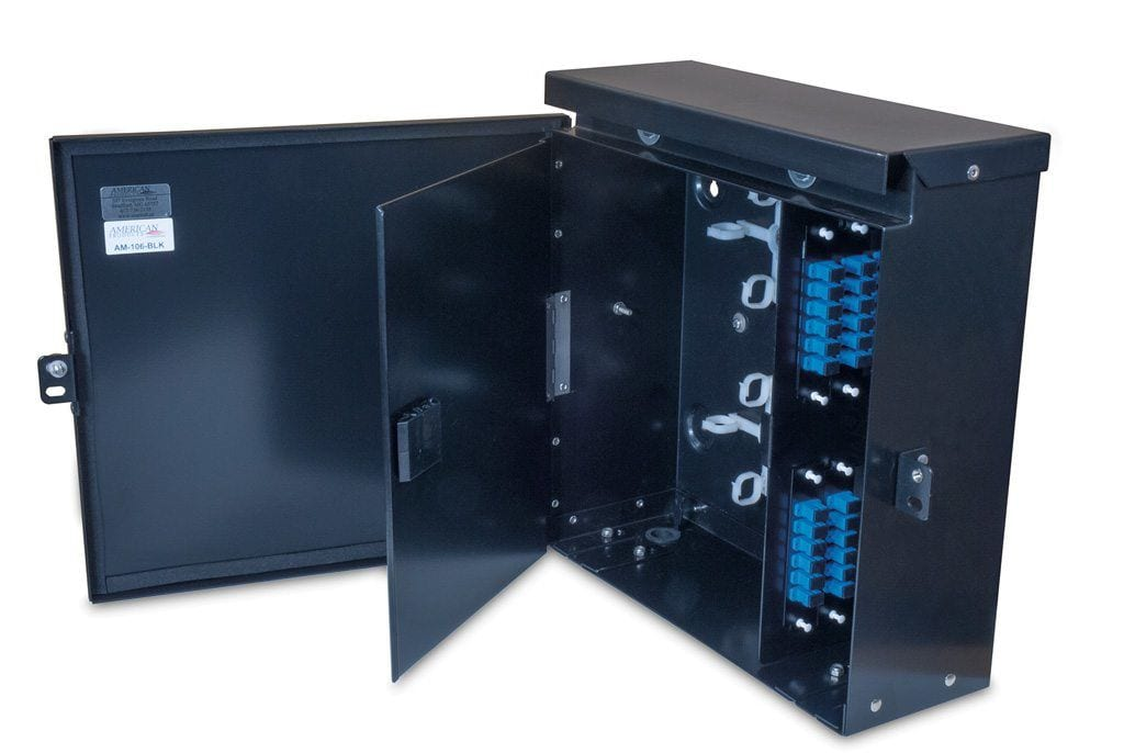 Fiber Optic Outdoor Wall Mount Enclosure Am 106