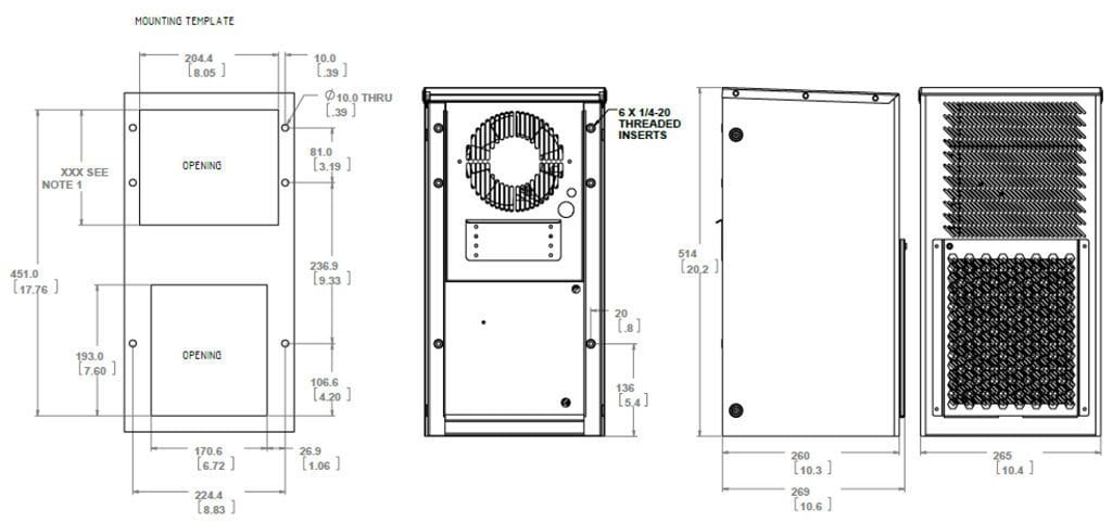 Dantherm-CS020020A-Drawing