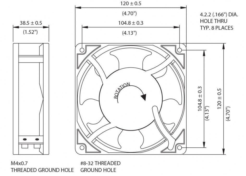 115V-Fan-58-0266-00-Drawing