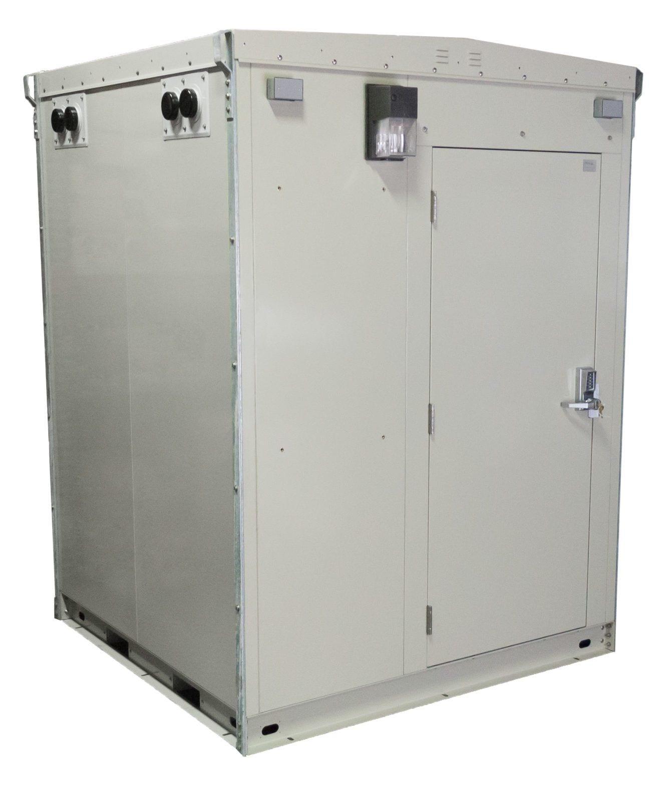 Telecommunications Huts: AP FORT™ Telecommunications Shelter