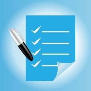 graphic checklist