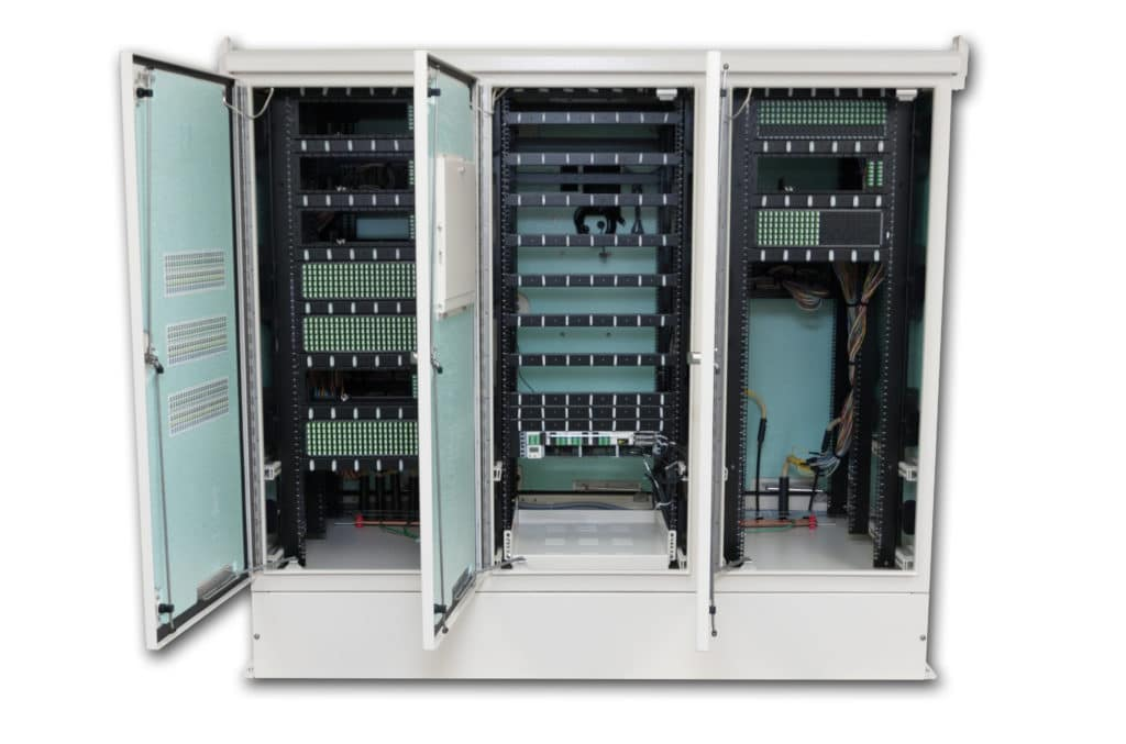 American Products telecommunications cabinet
